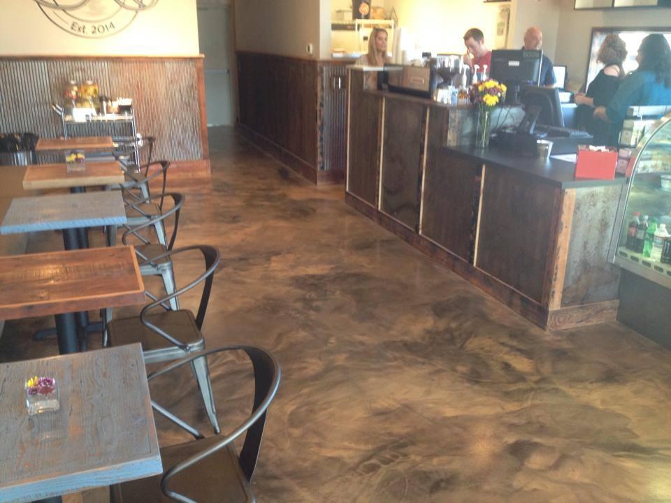 Metallic Epoxy Floors The Concrete Protector