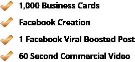 Bronze Marketing Package