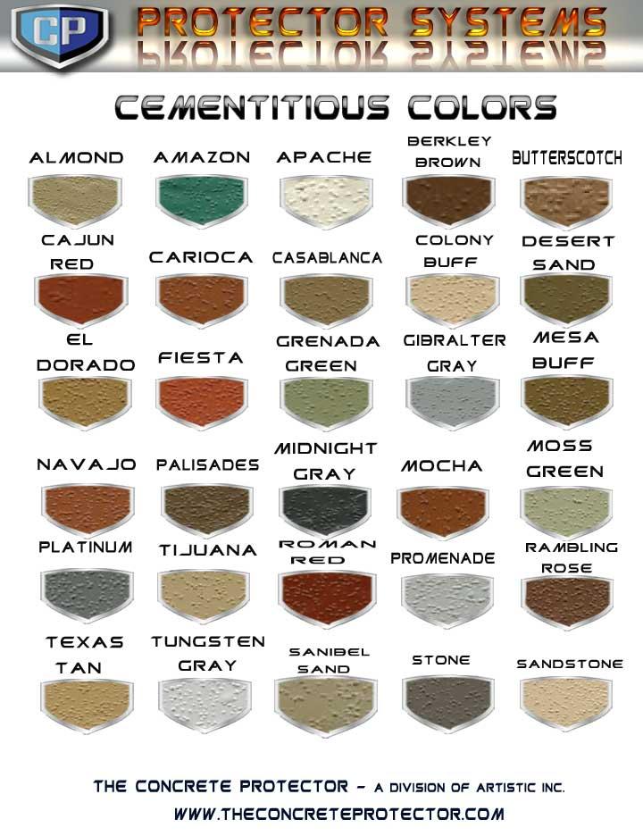 Quikrete Liquid Cement Color Chart Rebellions