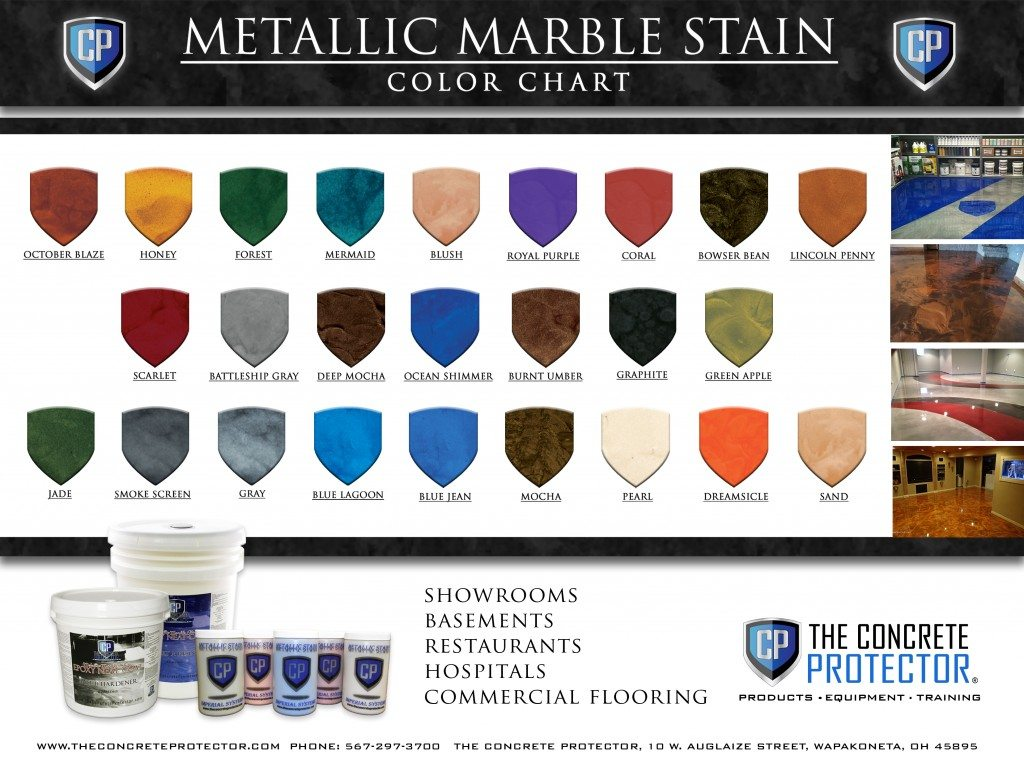 CP_Horizontal Metallic Marble Stain Color Chart