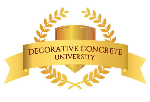 Decorative Concrete University Logo for web_on screen use