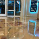 Metallic Marble Epoxy Flooring   Concrete Coatings