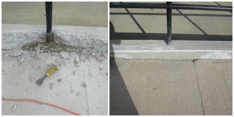 Concrete Repair | The Concrete Protector