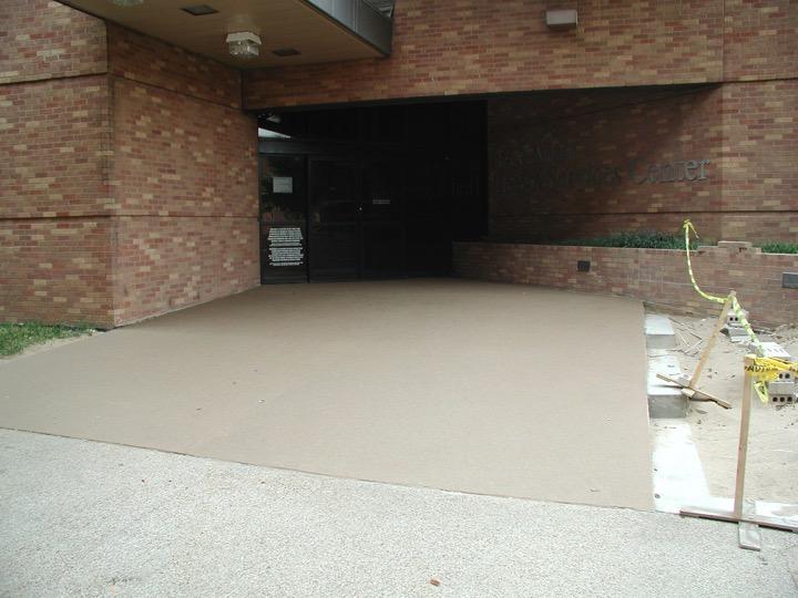 Concrete Repair with Flexcrete