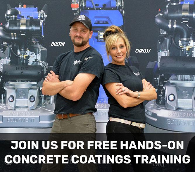 Free Concrete Coatings Training